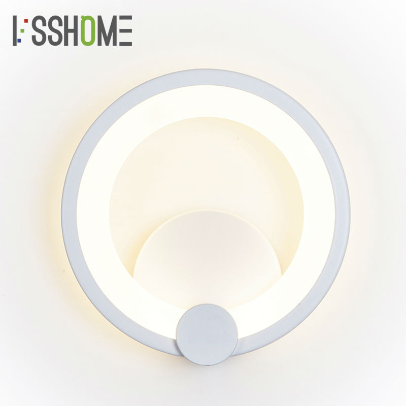 [VSSHOME] 8W LED Wall Lamps Modern Nordic Style Home Indoor Lighting Living Room Corridor Lamp Bedroom Decoration AC90-260V [ygfeel] 21w led wall light creative bedroom wall lamp indoor living room foyer decoration corridor stair lighting ac90 260v