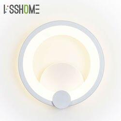[VSSHOME] 8W lampy ścienne LED nowoczesny skandynawski styl oświetlenie wewnętrzne domu pokój dzienny lampa do korytarza dekoracja sypialni AC90-260V