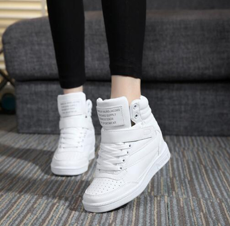 New Women Casual Women Shoes Fashion Embroidered Women Vulcanize Shoes Breathable Lace-Up Women Sneaker