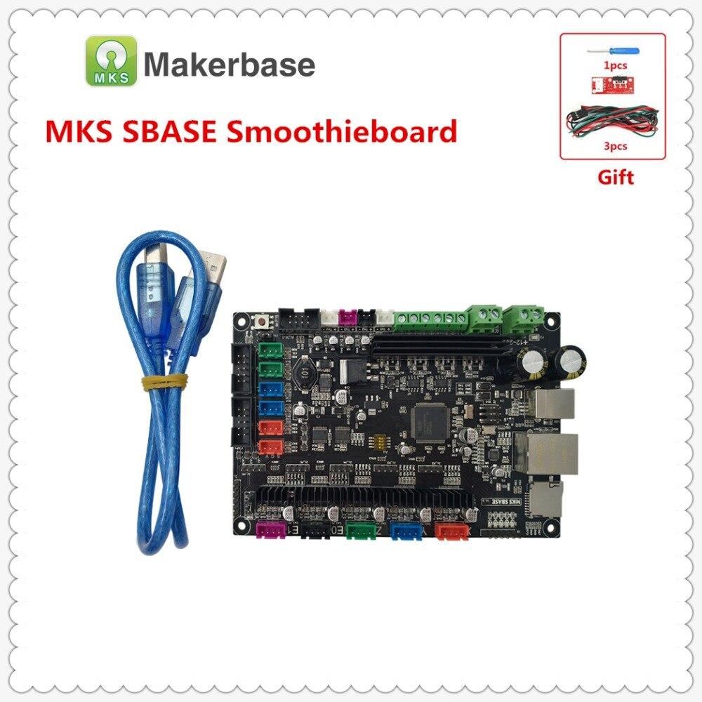 3D imprimante contrôleur carte mère MKS SBASE V1.3 32-peu ARM Cortex pour Smoothieware intégré Microcontrôleur open source