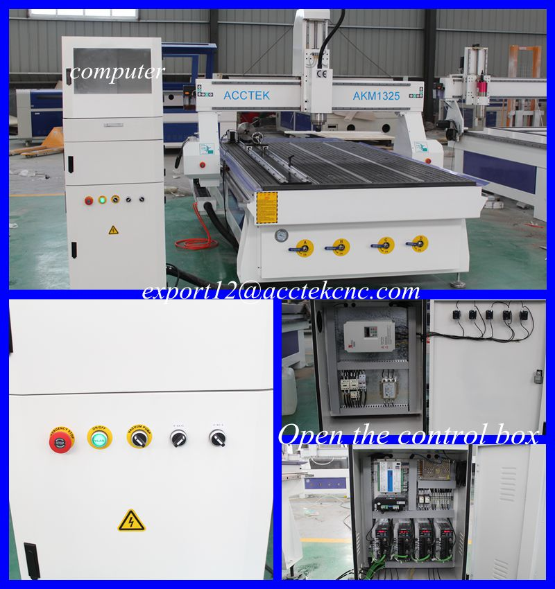 MDF Wood crafts cnc 4 axis mesin cnc aluminum plate cutting cnc router 1325 Vacuum table Rotary