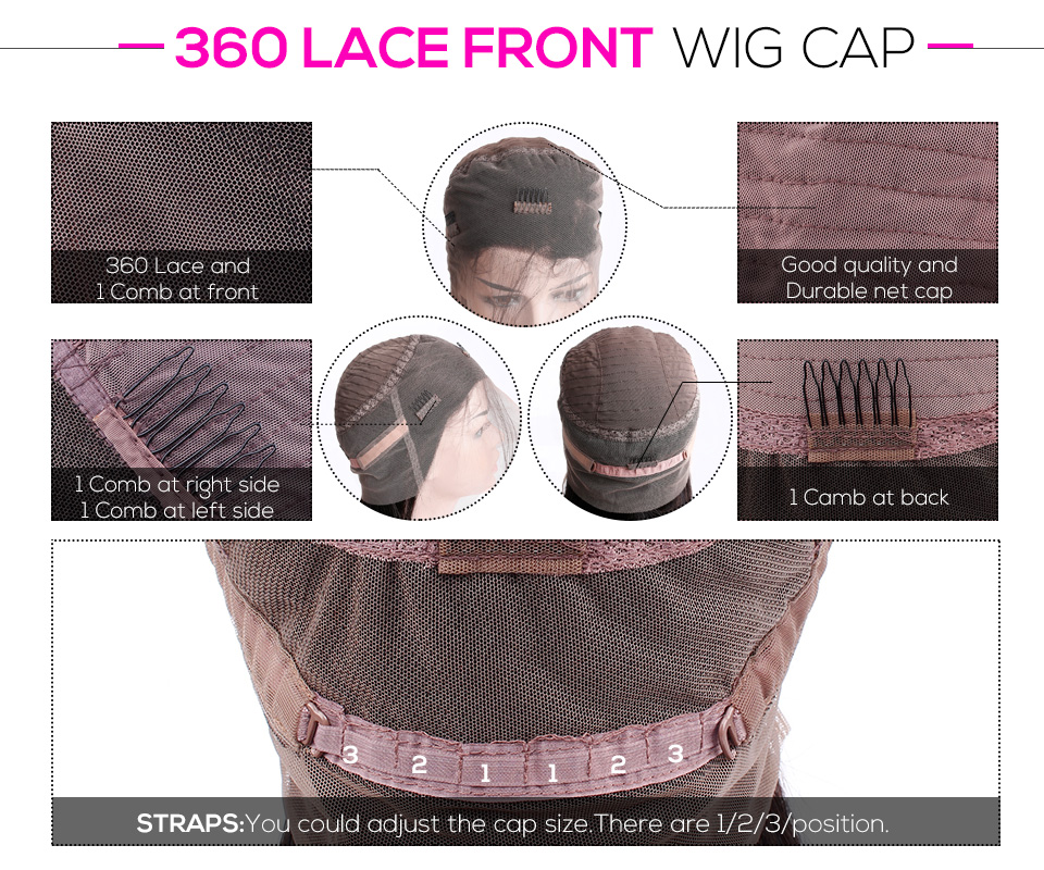 360 lace frotnal wigs