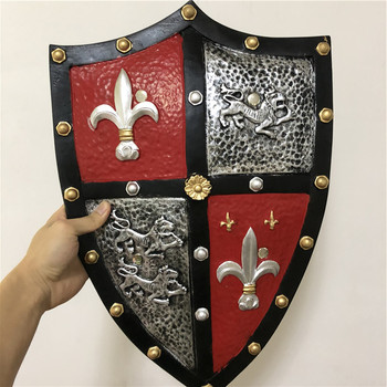 Cosplay 1:1 Trident Silver leopard Power Knight Shield Anime Game PU Weapon Prop Role Play Action Figure Model Christmas Gift