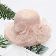 Новинка, женские летние шляпы с полями, новые брендовые соломенные шляпы для женщин, Кентукки, Дерби, чародей, свадебные, вечерние, Свадебные шляпы 4,30