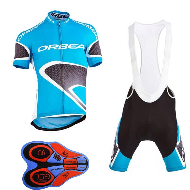 2017 Men Short Sleeve Crossmax Offroad Downhill Jersey Orbea Clothing Set Cycling Jersey ...