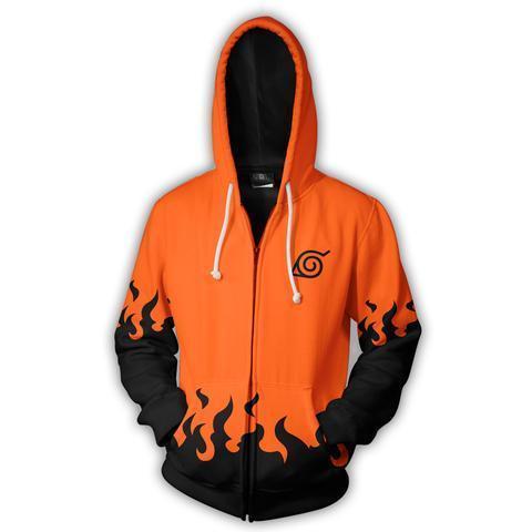 Best Naruto Zip Up Hoodie