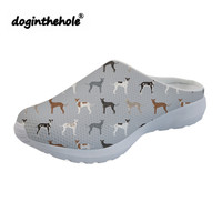 doginthehole Outdoor Sport Sandals Womens Clogs Italian Greyhound Printed Summer Beach Shoes for Women 2019 Lightweight Slippers