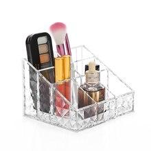 Women Heart Shaped Lipstick Cosmetic Makeup Organizer Case Jewelry Display Storage Box Rangement Rack Holder C176