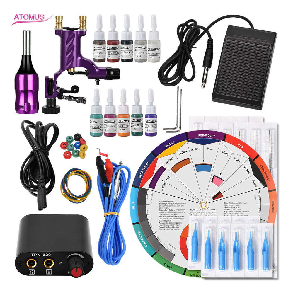 Tattoo Machine Rotary Best Insumos Para Permanent Makeup Quit De Tattoo Kit Complet Professionnelle Tools Tattoo Kits InicianteTattoo Machine Rotary Best Insumos Para Permanent Makeup Quit De Tattoo Kit Complet Professionnelle Tools Tattoo Kits Iniciante