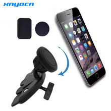 Xnyocn New Car CD Slot Magnetic Cell Mobile Phone Holder For iphone 6 5S For Samsung GPS MP3 Mount Stand suporte automobile