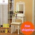 Single drawer dresser , dressing table bedroom vanity table