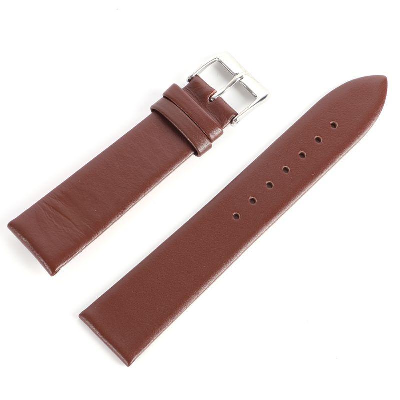 * 12-22mm Männer Frauen Faux Echte Leder Armband Dünne Wasserdichte Uhr Strap Frauen Uhren Zubehör *