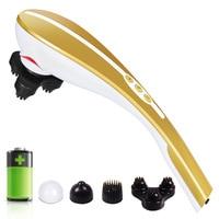 Wireless Rechargeable Massage Stick Cervical Vertebra Massager Electric Multifunctional Neck Massager Infrared Back Massage
