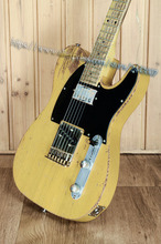 10 S Custom Shop Rolling Stones Keith Richards Micawber 1953 Tele Butterscoth Blonde E-gitarre