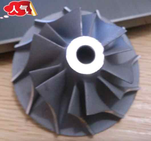 Turbojet Turbojet Roda Kj66 Kompresor Kj66 Impeller Mesin Jet