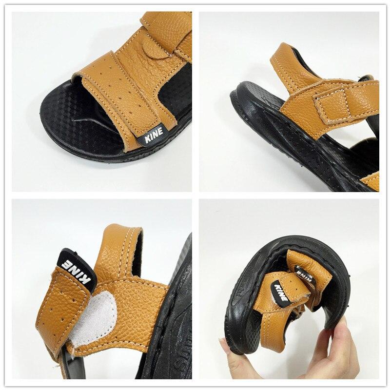 Wyjątkowe sandały dla chłopców Panda Letnie dziecięce buty dla - Obuwie dziecięce - Zdjęcie 4