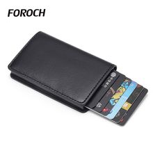 New Cardhold Credit Card holder New Metal ID Card Holder Anti Rfid Wallet Business Card Holder Wallet For Credit Cards Case 002 zebra zxp series 3c id card printer single sided for wedding cards business card student card