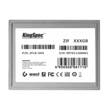 ZF18-64 KINGSPEC SSD 64GB 1.8 ZIF 40PIN disque hd Solid State Hard Drive Disk For DELL D420 D430 LATITUDE XT Lenovo K12