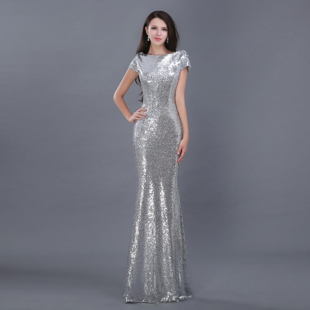 Sparkly Mermaid Prom Dresses 2015