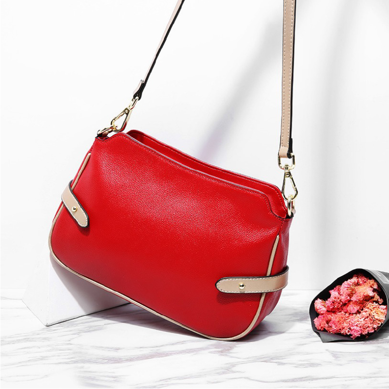 Genuine Leather Women messenger Bag Female Crossbody Bag High Quality Natural Leather Ladies Shoulder Bag Fashion Small Flap Bag women bags handbag female tote crossbody over shoulder sling leather messenger small flap patent high quality fashion ladies bag