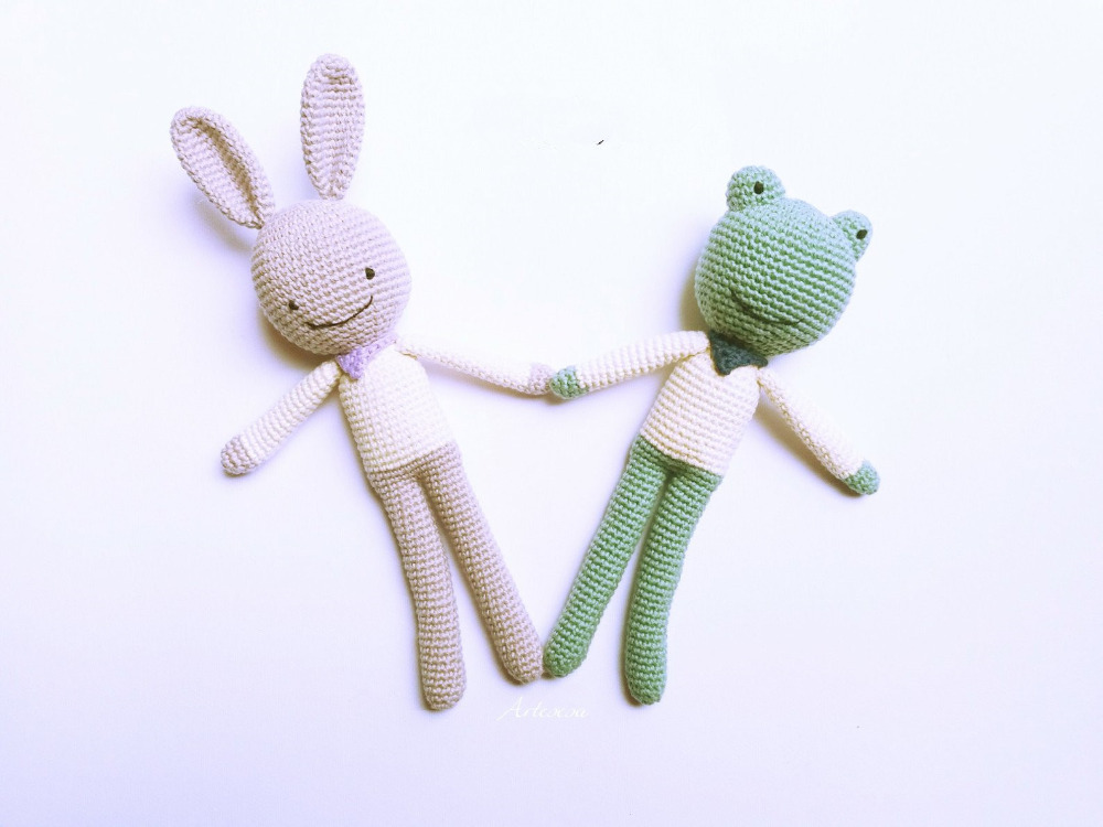 Crochet Toys  Amigurumi Or  Bunny Doll  Model    Number XH0412013