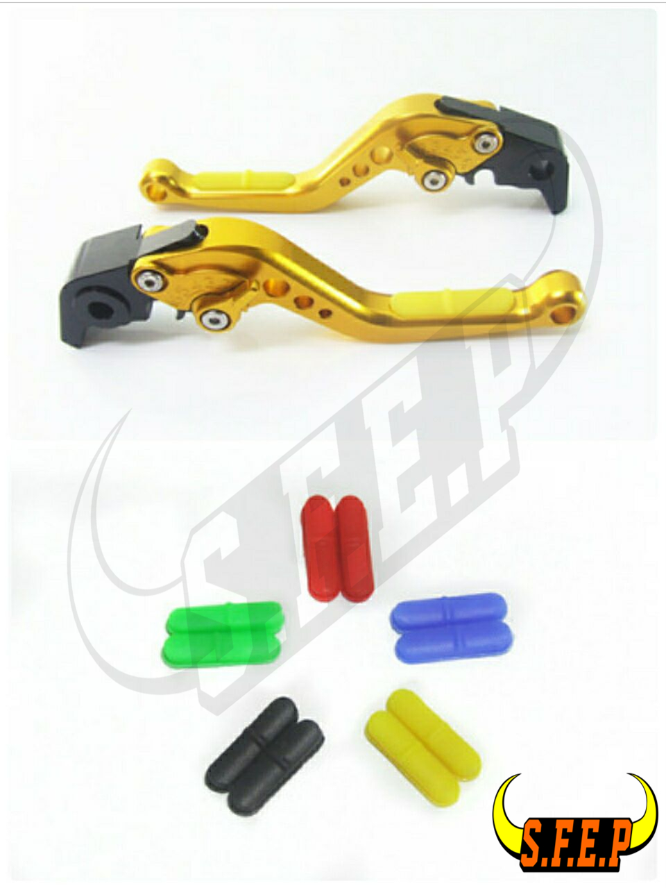 CNC Adjustable Motorcycle Brake and Clutch Levers with Anti-Slip For Ducati Scrambler(all except Cafe Racer) 2015-2016