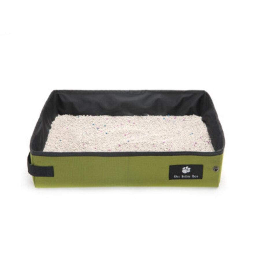 Sac de merde chien chat litière boîte Portable chat litière facile à nettoyer pliable facile à transporter approvisionnement Teddy Pet fournitures 30SP056