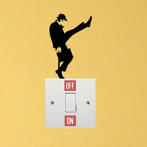 Monty Python Ministry Of Silly Walks Bedroom Vinyl Wall Sticker Switch Decal 6SS0284