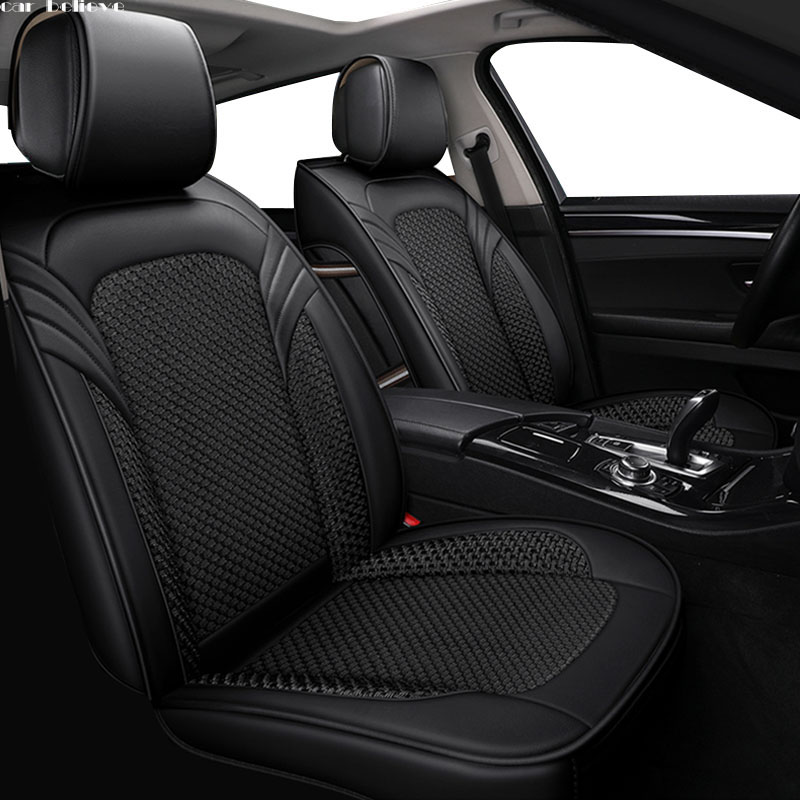 Auto Credere copertura di sede dell'automobile Per mercedes w204 w211 w210 w124 w212 w202 w163 w245 accessori copre per sedile del veicolo