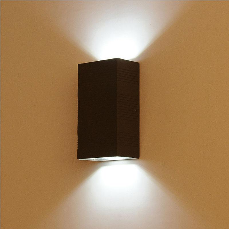 Сучасні непромокальні саду стіни світла відкритий шлюз ганок лампа прохід налькон фон бра