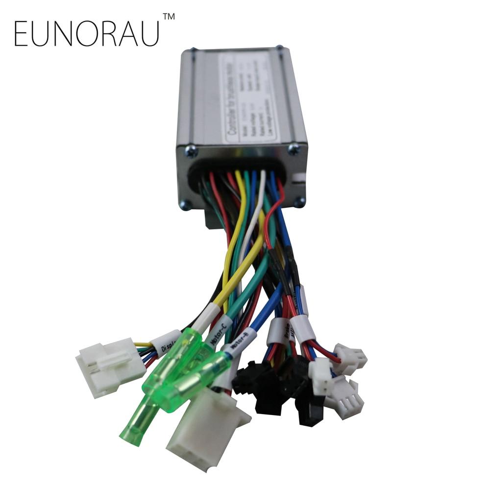 <font><b>electric</b></font> bicycle controller 36V 15A block wave e <font><b>bike</b></font> controller for 36V 250W shengyi front hub motor ebike kit
