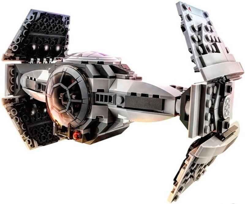 354pc Bela Star Wars 10373 Force Awakens TIE Advanced Prototype Building Blocks Toys For Children Gifts Kids Block Sets christmas gifts star wars trek tie