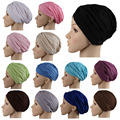 2017 muslim scarf women Fashion Hijab Caps Muslim Women Bonnet  Islamic Head Cover Muslim Hat Caps heve not leopard these days.