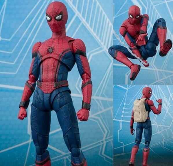 15 cm Marvel Spider Man Home coming BJD Spider-man Figura Modelo Brinquedos