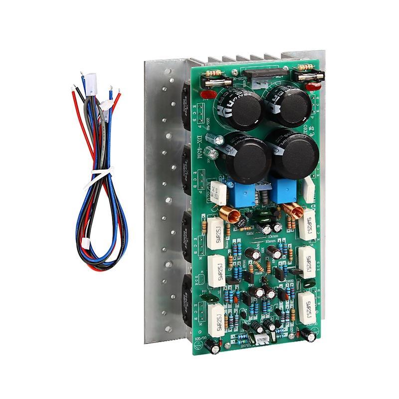 Hifi Sanken 1494/3858 carte amplificateur Audio 450W & 450W amplificateur stéréo Mono 800W carte amplificateur haute puissance|Opérationnel Amplificateur Puces| |  -