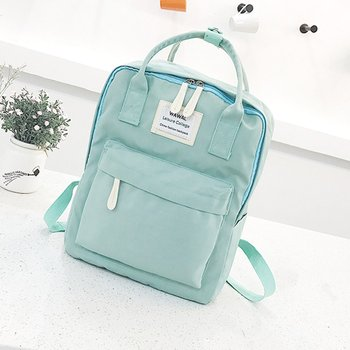 Hot Deals Cute Canvas fashion Backpack female kanken backpack design for  girls leisure travel school bags c2f5d2548be05