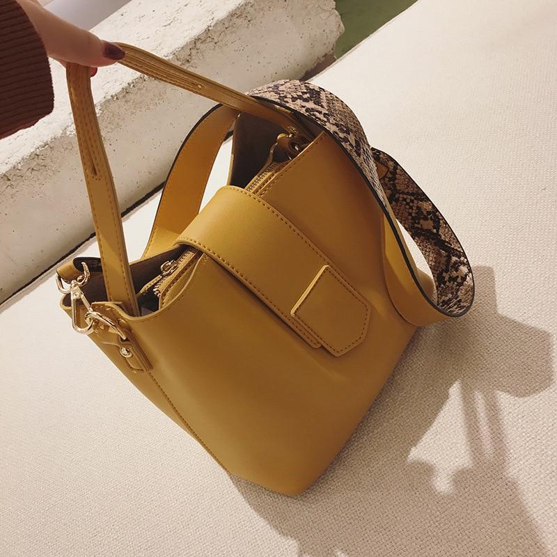Composite Bag Fashion 2018 Women Handbag Fashion PU Leather Shoudler Bag Solid Soft Single Shoulder Bag Messenger Bags