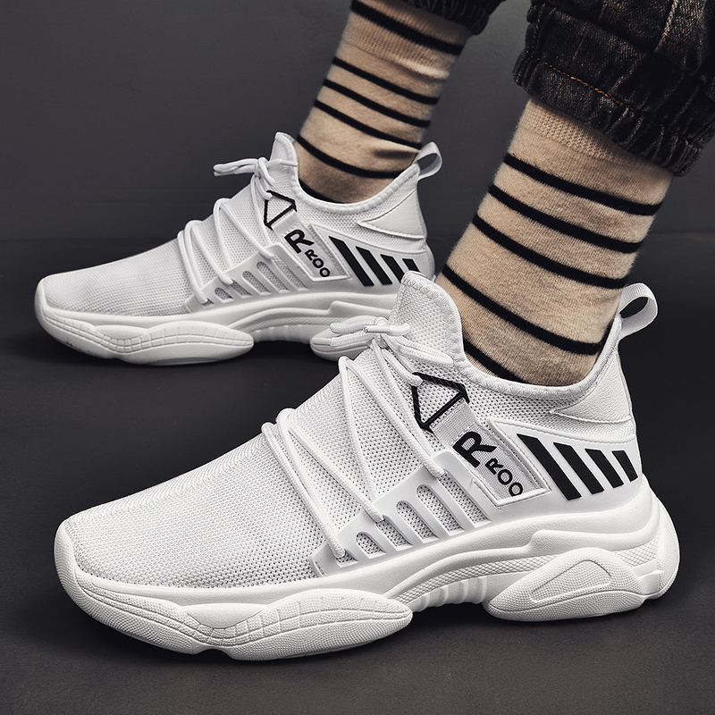 Image 3 - YRRFUOT Autumn New Trend Casual Men Shoes High Quality Hot Sale Fashion Sneakers Comfortable Breathable Vulcanize Shoes for Men-in Men's Casual Shoes from Shoes