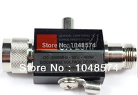 Free Shipping N Male to N Female CA 23RP Coaxial Lightning Surge Protector Arrester