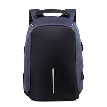 SXME Laptop Backpack USB Charging Anti Theft Backpack Men Travel Backpack Waterproof School Bag Male Mochila - DISCOUNT ITEM  53 OFF Luggage & Bags