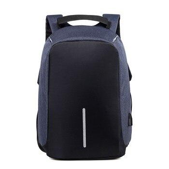 SXME Laptop Backpack USB Charging Anti Theft Backpack Men Travel Backpack Waterproof School Bag Male Mochila