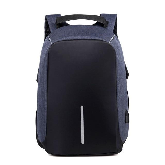 SXME sac à dos antivol pour hommes, avec chargeur USB, sac décole étanche, Mochila, sac à dos pour ordinateur portable