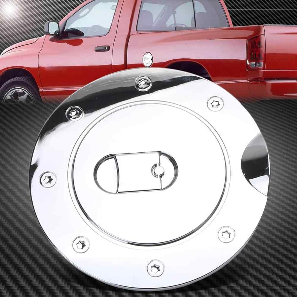 For Dodge RAM 2500//3500 03-09 Chrome Gas Door FUEL TANK Cover