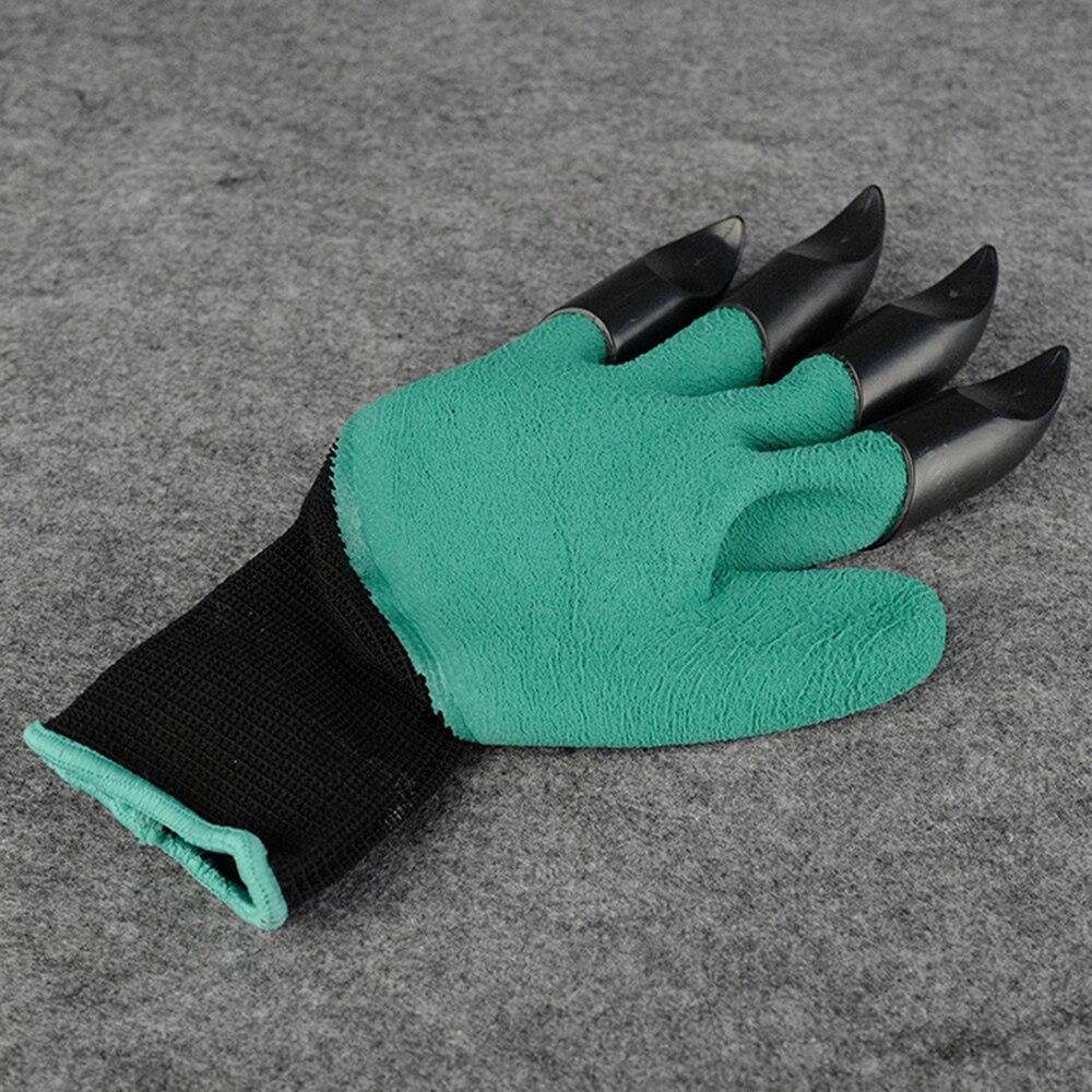 Tuin Handschoenen & met 4 klauwen Plastic Rubber Handschoenen Snel Graven en Planten Waterdicht Essentiële Tuin Gadget 3