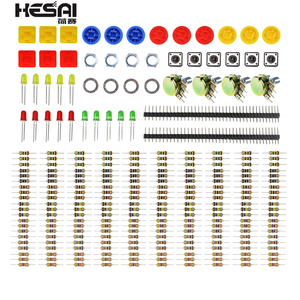 Starter Kit Weerstand Kit Uno R3 Led Potentiometer Tact Switch Pin Header Voor Arduino Diy Starter Kit