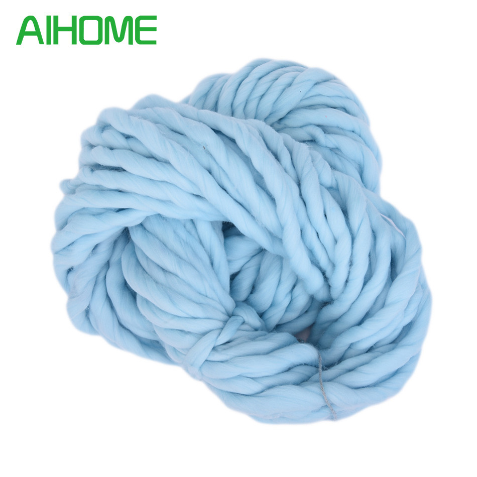 Thread where to buy ice picks in bulk - 10pcs 20 Colors Soft Wool 100 Roving Bulky Thick Big Yarn Spinning Hand Knitting Thread