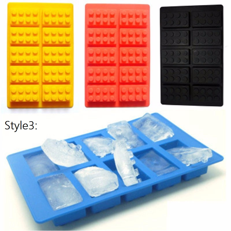 Tetris Blokken \ Robot Silicone Mold Fondant Chocolade Mould Ijsblokje  Stencils Cake Decorating Accessoires Bakken Gereedschap
