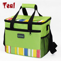 2017 New Waterproof Portable Insulated Lunch Bag Food Picnic Bags For Women Children Cooler Bag Refrigerator