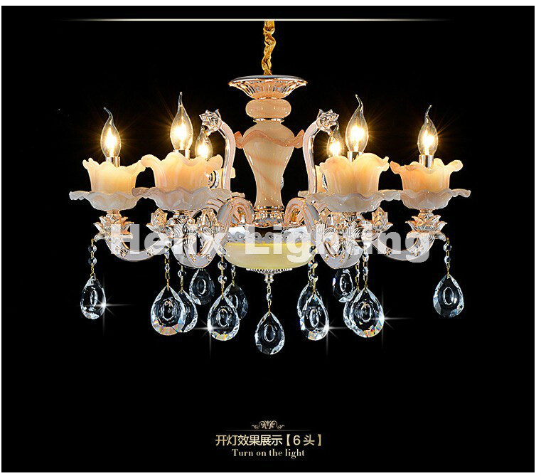Hot Selling Modern crystal chandelier 6 Arms Luxury crystal light chandelier Fashion chandelier crystal light Modern Lighting