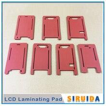 Резиновая форма для iPhone X XR 5G 5s 5C 6G 6s 6 6s Plus 7G 8G 7 8 plus 8 Plus внешнее стекло и ЖК-экран ламинирование с рамкой